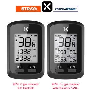 XOSS Bike Computer G+ Wireless GPS Speedometer Waterproof Road Bike MTB Bicycle Bluetooth ANT+ with Cadence Cycling Computers(China)