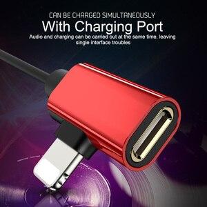 Image 3 - Auriculares magnéticos con cable y adaptador de carga para iPhone 7, 8 Plus, X, XS, 11 Pro, Max, Huawei, Samsung