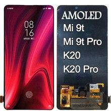 """Amoled 6.39 """"xiaomi mi 9tプロ液晶mi 9tディスプレイタッチスクリーンデジタイザxiaomi redmi K20プロ液晶redmi K20液晶"""