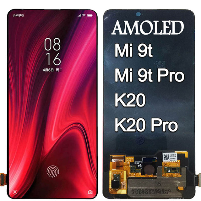 Amoled for Xiaomi Mi 9t Pro LCD Display Touch Screen Digitizer Assembly Redmi k20 LCD for Xiaomi Mi 9t LCD for Redmi K20 Pro LCD