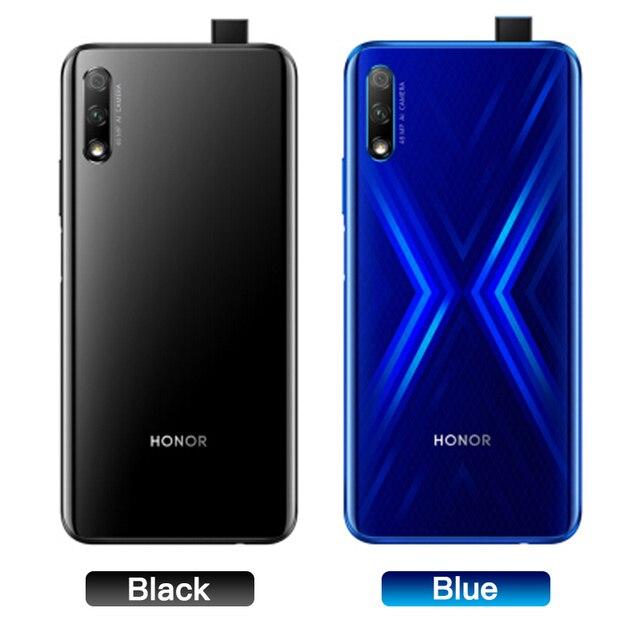 Honor 9x 9x pro Smart Phone Kirin 810 Octa Core 6.59 inch Lifting Full Screen 48MP Dual Cameras 4000mAh GPU Turbo Mobile Phone 2