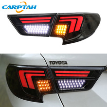 цена на Carptah Car Styling Taillight Tail Lights For Toyota Mark X 2013 - 2018 2019 Rear Lamp DRL + Turn Signal + Reverse + Brake LED