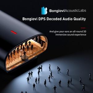 Image 2 - Baseus Bongiovi DPS Bluetooth 5.0 מקלט 3.5mm שקע Bluetooth אודיו Aux Aptx LL HD אלחוטי מתאם משדר עבור אוזניות