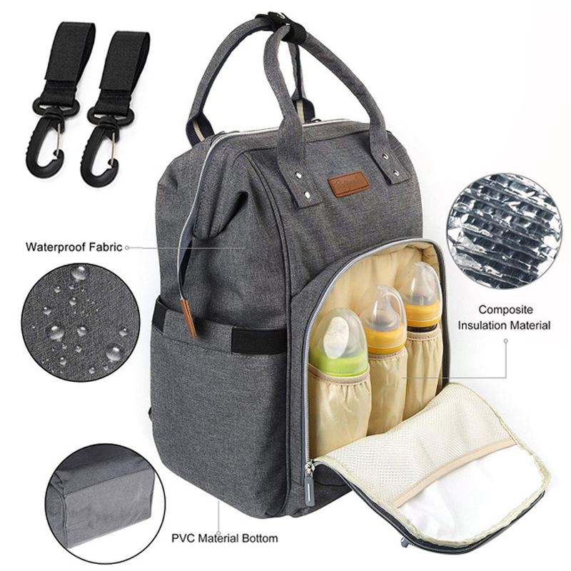 Mommy diaper bag baby travel backpack mother maternity nursing stroller nappy bag large capacity waterproof baby bags for mom