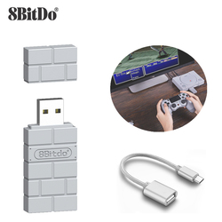 Aknes 8Bitdo USB Wireless Bluetooth Adapter Receiver For Windows Mac For Nintend Switch For PS3/Xbox one Controller