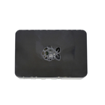 Per Raspberry Pi Caso Box Box V4 con Dissipatore di Calore + 5V/3A Alimentatore per Raspberry Pi 4B EduSupply Store