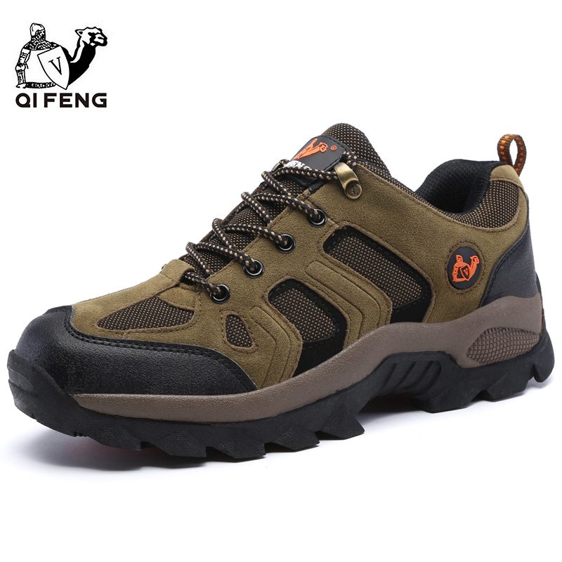 Image 2 - Men Women Outdoor Sports Hiking Shoes Breathable Mountain Climbing Footwear Trekking Sneakers Classic Casual Boots Couple Gift-in Hiking Shoes from Sports & Entertainment