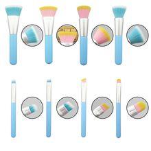 купить 1 pcs Makeup Brush Foundation Brush Loose Powder Brush Blush Brush Nylon Bristles Wooden Handle Cosmetic Brush дешево