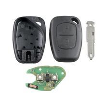 2 кнопки 433 МГц дистанционный Автомобильный ключ для Renault PCF7946 Автомобильный ключ 433 МГц пульт дистанционного управления автомобильный ключ