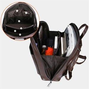 Image 5 - 3 in 1 בציר נשים תרמיל באיכות גבוהה נוער תרמילי עור לנערות נשי בית ספר כתף תיק bagpack המוצ ילה