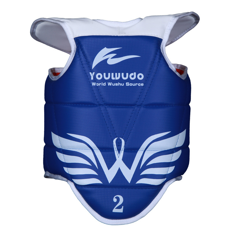 Chest Protector For Taekwondo Thick Children Adult Sanda Boxing Game Only Maya Pattern Cao Xi Wen