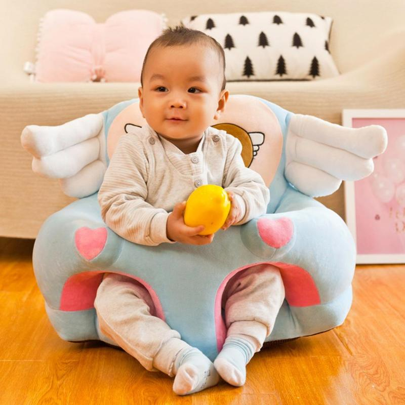2020 Newest Fall-proof Baby Seat Cover Safety Reliability Washable Children Foldable Fashionable Environmental Sofa Chairs Cover