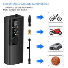 Bike-Accessories Compressor Tire-Pump Air-Inflator Electric 120PSI Mini Portable Car