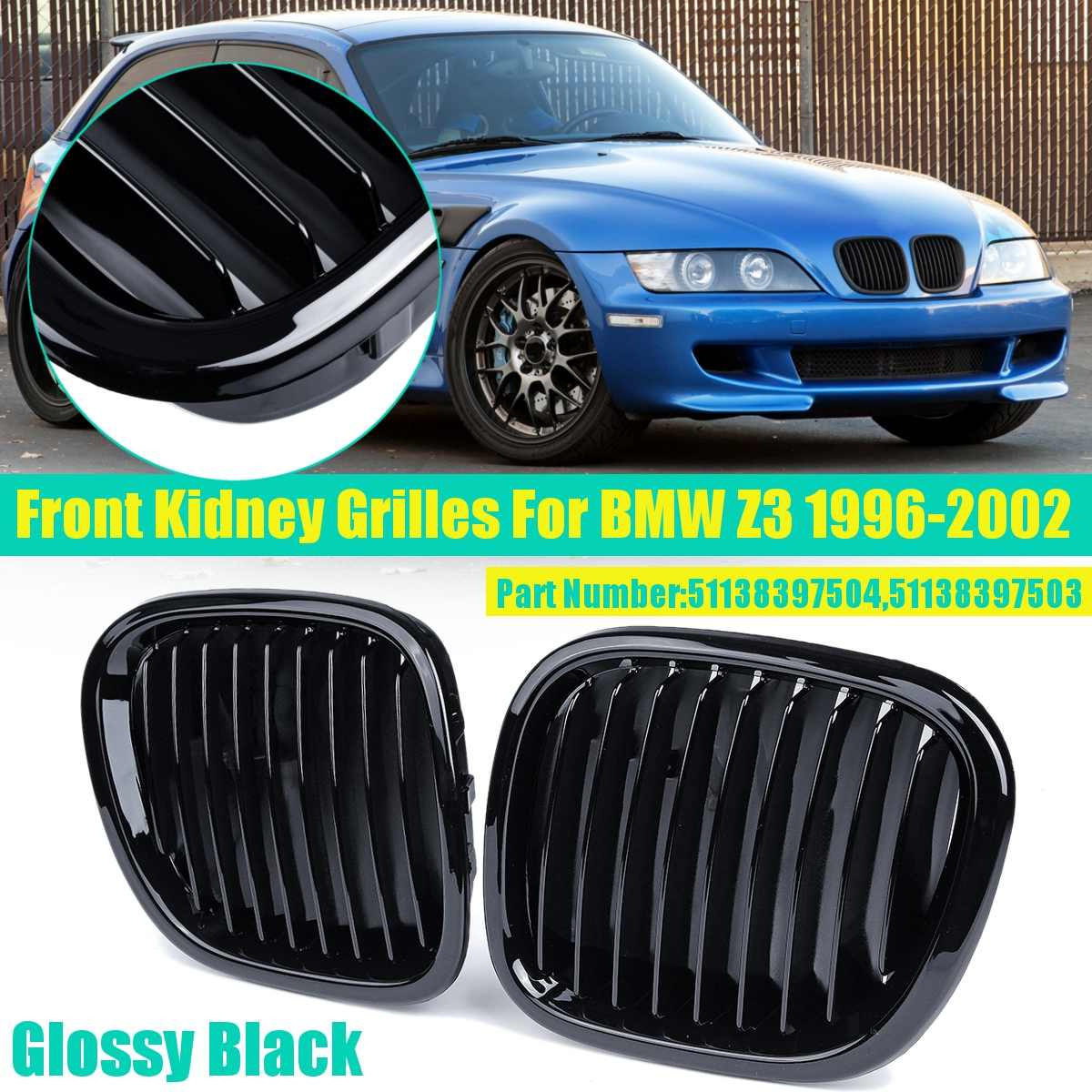 FRONT WING PANEL LEFT SIDE BMW Z3 1996-2002