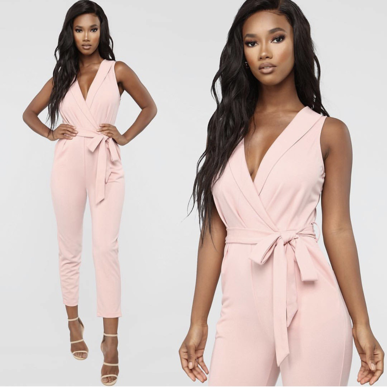 Ymg-001 European And American-Style Hot Selling Women's Clothing 2019 European Grand Prix Women's Suit Collar Onesie