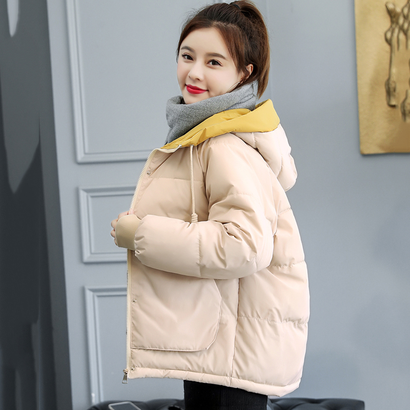 7 Colors Available 2019 Winter Jacket Women Hooded Padded Female   Parka   Short Warm Coat Casaco Feminino
