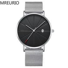 Мужские часы mreurio с уникальным дизайном и большим циферблатом