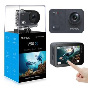 Image 3 - AKASO V50X WiFi Action Camera Native 4K30fps Sport Camera with EIS Touch Screen Adjustable View Angle 131 feet Waterproof Camera
