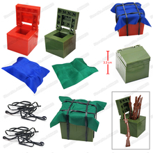 Military Airdrop Weapons Box Building Blocks Pubg ww2 Assemble Model Moc Army Figures Fighting Set Child Christmas Birthday Toys