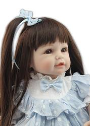 CHILDREN'S Toy Long Hair Princess Doll Replaceable Dress up Fashion Cute Simulated Doll Play House Doll