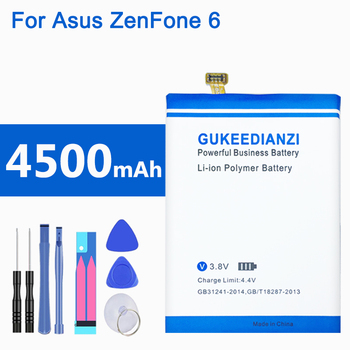 C11P1325 100% New 4500mAh Li-ion Battery For Asus ZenFone 6 ZenFone6 A601CG A600CG T00G Replacement Batteries