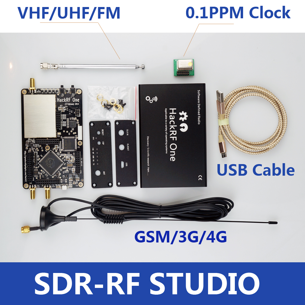 Dongle-Receiver Software Hackrf One Rtl Sdr Radio Demo-Board-Kit 6ghz 1mhz Platform To