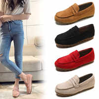 Women's Casual Flats Loafers Ladies Comfortable Slip On Soft Bottom Women Non Slip Woman Lazy Shoes Female 2020 New Spring