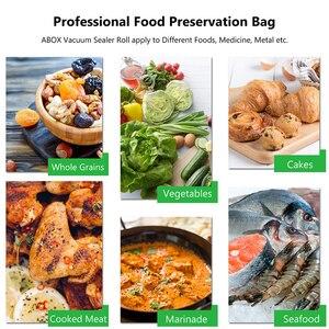 Image 3 - Torba do pakowania próżniowego żywności gospodarstwa domowego dla uszczelniacz próżniowy próżniowe torebki do przechowywania żywności świeże długie utrzymanie 12/15/20/25/28cm * 500cm 5 rolka