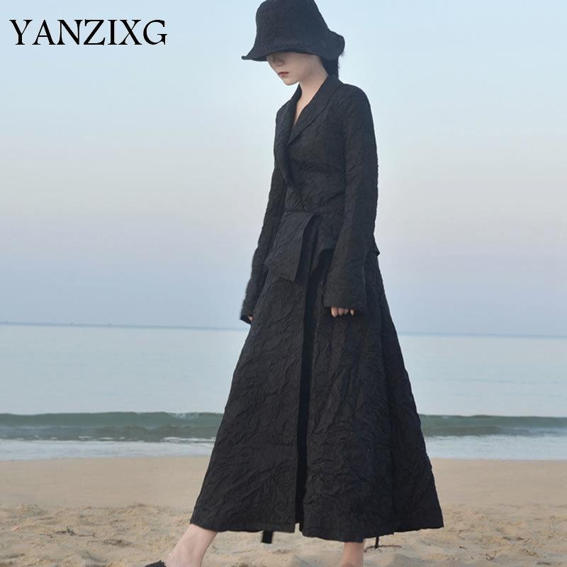 2019 Summer Korea Fashion New Women Single Button Notched Collar Solid Color Casual Sheath Loose Blazer Q354