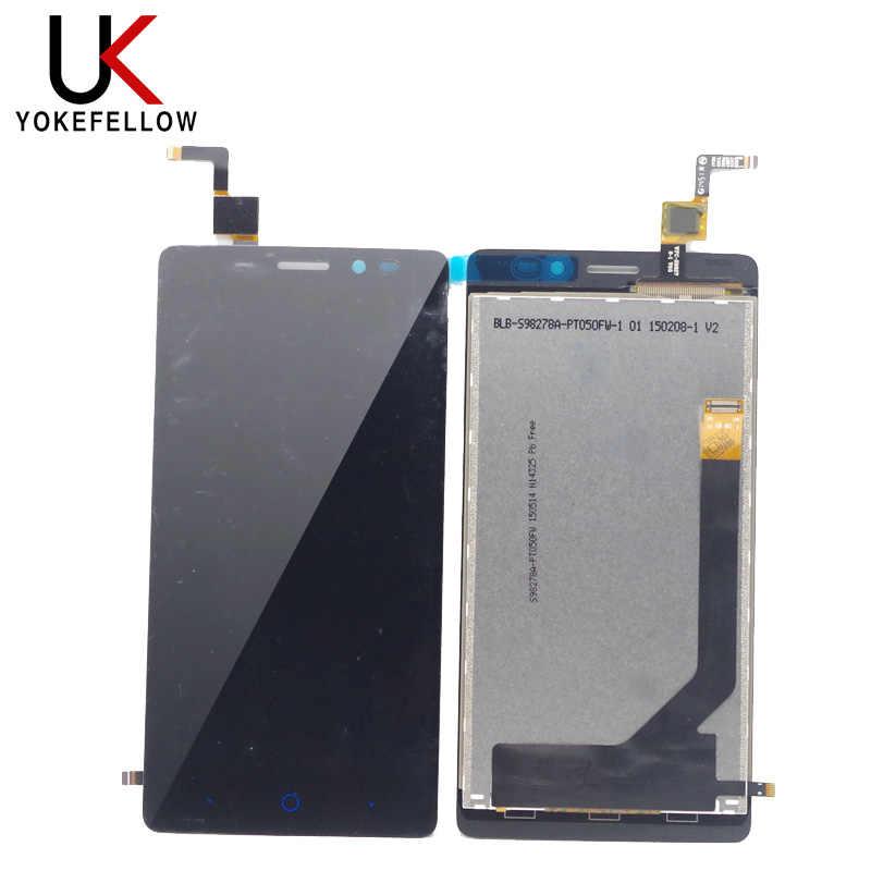 الهاتف المحمول LCD ل ZTE شفرة V2 لايت A450 شاشة الكريستال السائل مع لوحة شاشة لمس الجمعية