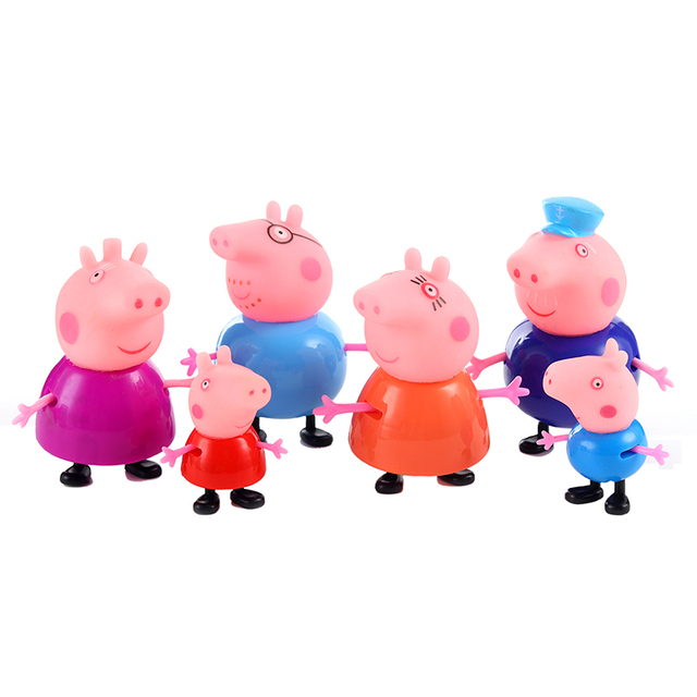 Peppa Pig PVC Cake Toppers