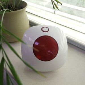 Image 3 - Wifi 433MHz kablosuz Strobe Siren ses ve ışık sireni 100dB için G50 W123 PG103 PG168 ev güvenlik WIFI GSM alarm paneli sistemi