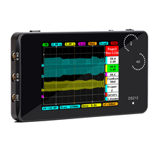 2 Channel Digital Oscilloscope USB Interface Full Color Tft Display 8mb Memory Storage Bandwidth Oscilloscope
