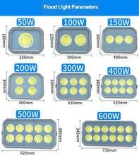 50 Вт Светодиодный прожектор светильник cob ip65 водонепроницаемый