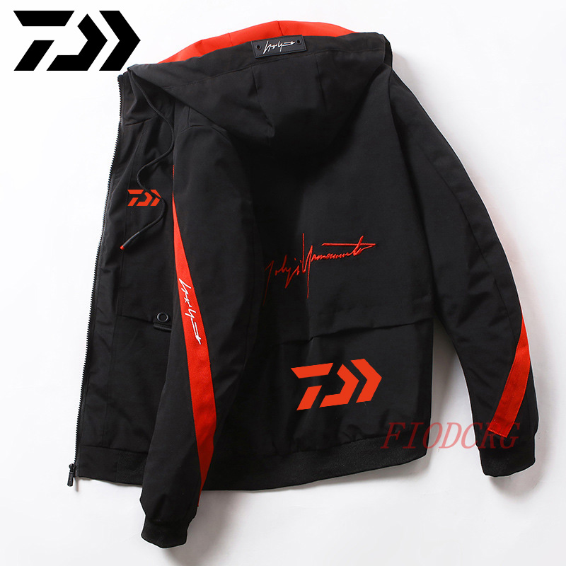 Daiwa Fishing Clothing 2020 Quick Dry Fishing Clothes Outdoor Sport Daiwa Fishing Shirts Mens Breathable Letter Fishing Jackets