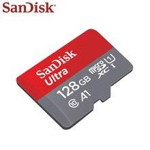 100% Nguyên Bản Thẻ Nhớ Sandisk 64GB 32GB 16GB 8GB Tốc Độ Đọc Tối Đa 90 Mét/giây Micro SD thẻ Class 10 UHS 1 Flash Thẻ Nhớ MicroSD