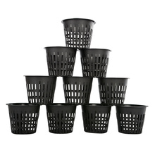 Net Hydroponic Planting Heavy-Duty Clone Mesh Grow Pot 10pcs Cup-Basket 3inch Hot-Sale