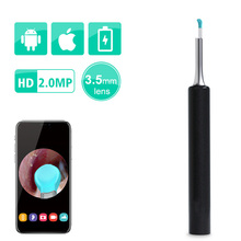 Newest 3.5mm Digital 1080P HD Wifi Ear Endoscope with 6 LED Lights Ear