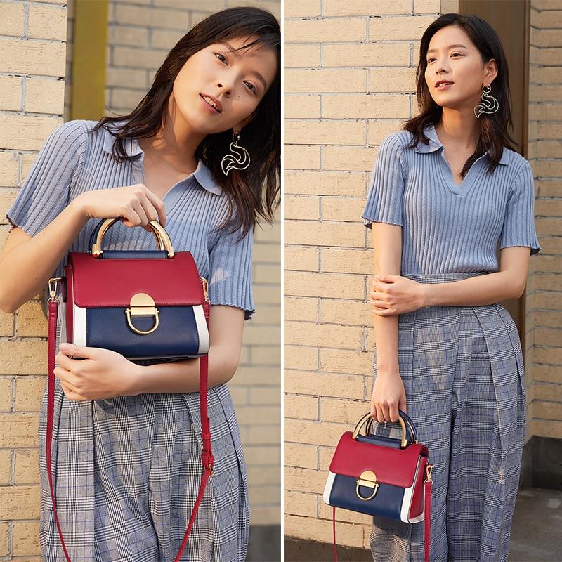 FOXER Engly Women Fashion Leather Handbag