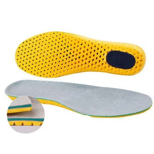 Image 4 - Sports Shock Insole Stretch Breathable Deodorant Running Cushion Breathable Sweat Men and Women Insoles For Sneakers Memory Foam