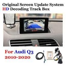 Voor Achter Camera Originele Scherm Upgrade Voor Audi Q3 2010 2012 2013 2014 2015 2016 2017 2018 2019 2020 backup Camera Decoder