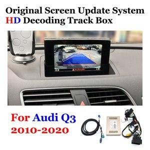 Image 1 - Voor Achter Camera Originele Scherm Upgrade Voor Audi Q3 2010 2012 2013 2014 2015 2016 2017 2018 2019 2020 backup Camera Decoder