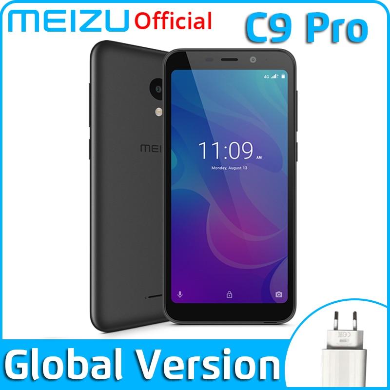 Meizu C9 Pro 3GB 32GB Global Version Mobile Phone Quad Core 5.45 inch 1440X720P Front 13MP Rear 13MP 3000mAh Battery(China)