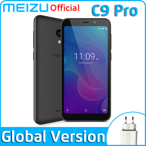 Meizu C9 Pro 3GB 32GB Global Version Mobile Phone Quad Core 5.45 inch 1440X720P Front 13MP Rear 13MP 3000mAh Battery(China)
