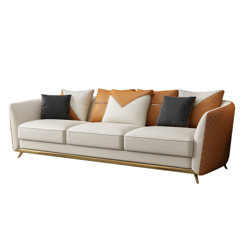 Leather Sofa Size Apartment Living