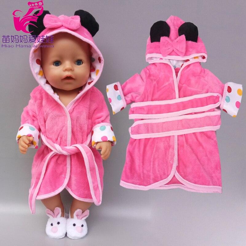 For 43cm  Born Baby Doll Summer Shoulder Strap Dress Headbands Fits 18