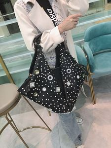 Image 3 - 2020 New European and American Large capacity Women Bag Female Rhinestone Ladies Handbag Female Diamond Shoulder Messenger Bags