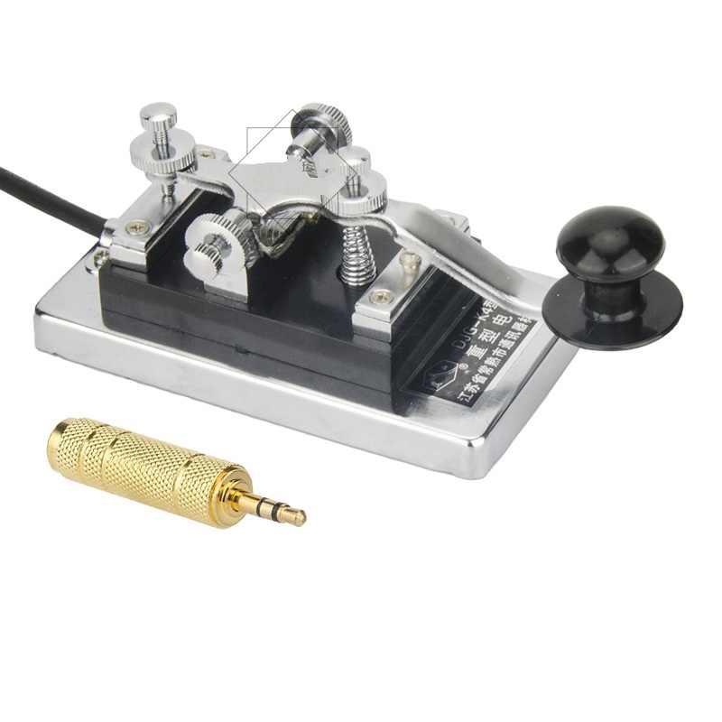K4 тяжелый приемник HF Радио ручной ключ djg-k4 прямой ключ