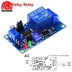 DC 12V electrónica relé de retardo de módulo interruptor de ajuste de potenciómetro demora en retrasar el apagado del interruptor módulo con temporizador