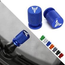 Motorcycle Tyre Valve Cover Tire Air Port Stem Cap Plug CNC Aluminum  For YAMAHA MT09 MT07 MT10 MT03 MT25 TRACER 900 700 GT FZ09